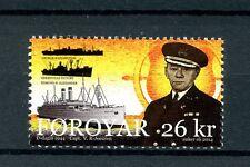 Faroe Islands Faroes 2014 MNH WWII WW2 D-Day 70th 1v Set Capt Joensen Stamps