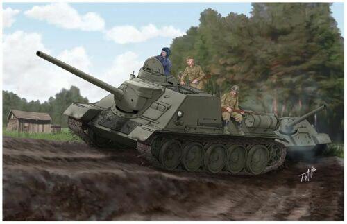 Neu Trumpeter 00915-1:16 Soviet SU-100 Tank Destroyer