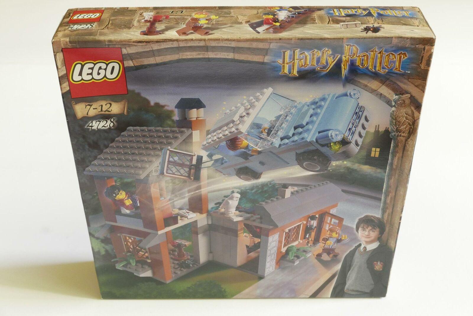 LEGO Harry Potter 4728 Flucht aus dem Ligusterweg NEU Versiegelt SELTEN...
