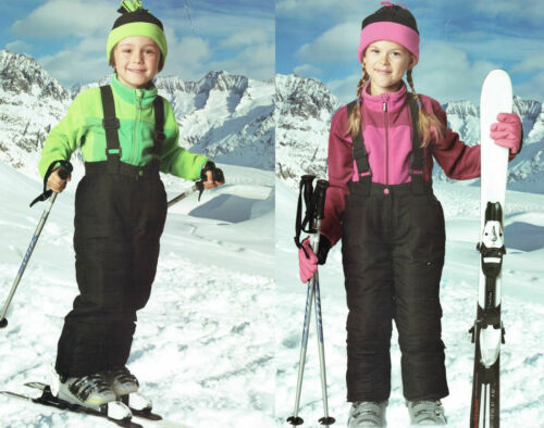 Kids Ski Snowboard Trousers Snow Trousers Pants Winter Trousers Elasticated Snow Skirt