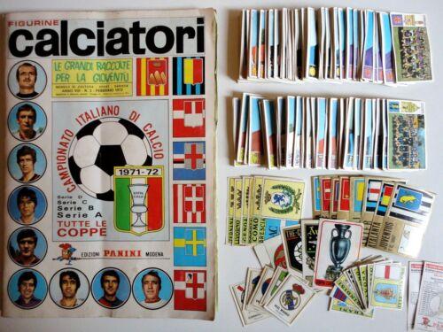 84 CALCIATORI PANINI 1971-72 Rec COPPA EUROPA SCUDETTO Figurina-Sticker n