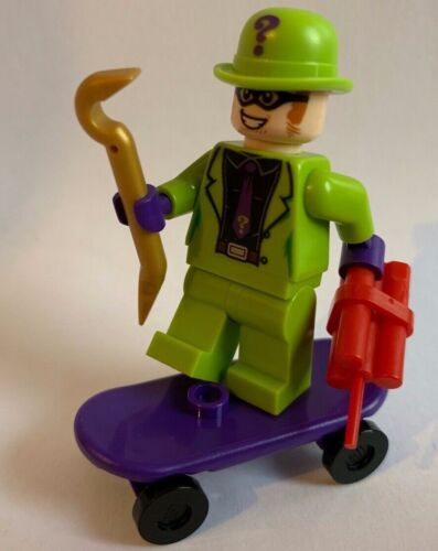 skateboard TNT LEGO DC SUPER HEROES Riddler minifigure from 76137