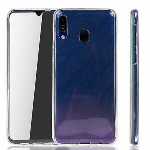Samsung Galaxy A20e Étui Coque 360 Téléphone Portable Housse Sac Covr Full TPU
