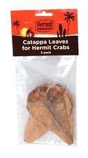 FLUKER'S HERMIT CRAB CATAPPA LEAVES 5PACK HIDING PLACE FREE SHIP IN THE USA ONLY