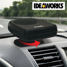 IDEAWORKS Portable Auto Heater and Defroster - Handy Winter Car & Window De-Icer