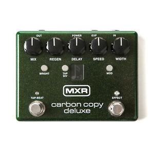 Dunlop-Mxr-Carbon-Copia-Deluxe-Analogico-Delay-M292-Pedaliera-Effetti-Nuovo