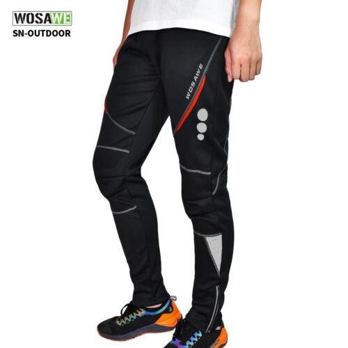 Cycling Casual Pants Sporting Hiking Mountain Bike Fleece Long Trousers Warm
