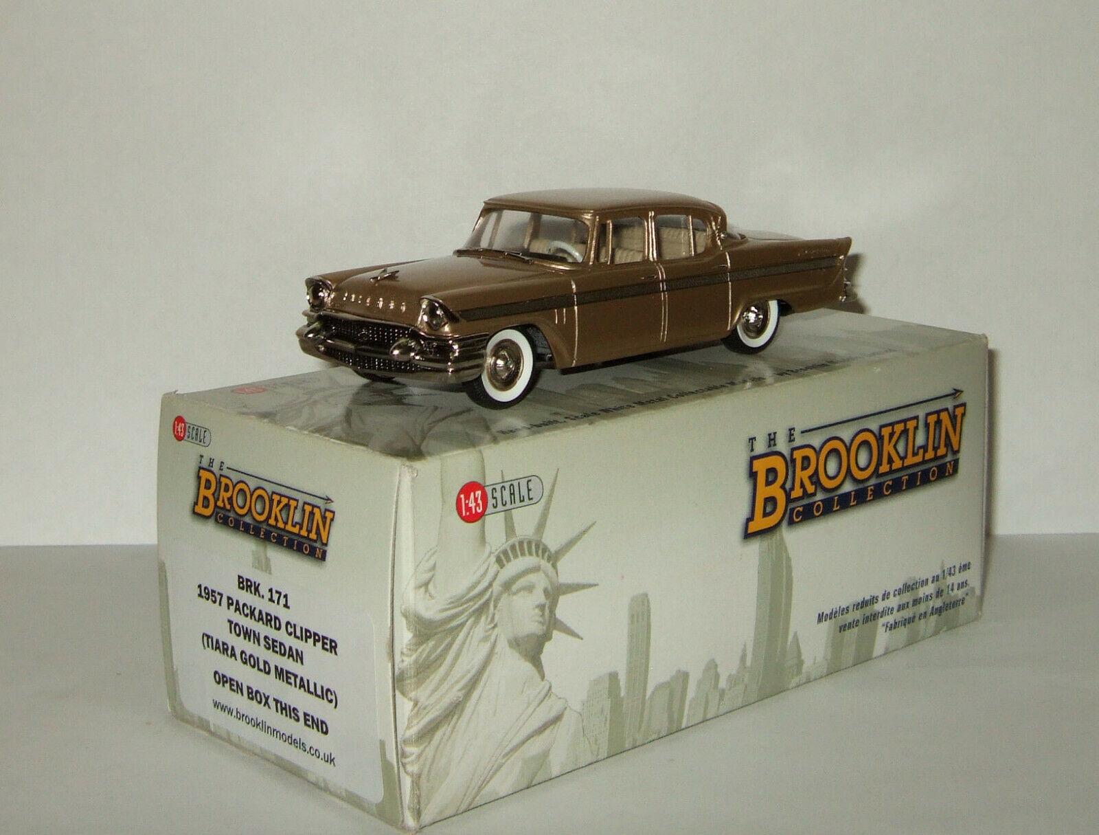 1 43 BROOKLIN modelloS Packard Clipper Town Sedan 1957 BERLINA