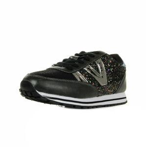 Détails Chaussures Sur Victoria 141108negro Femme Noire Synthétique Baskets Taille Noir IDHWE29