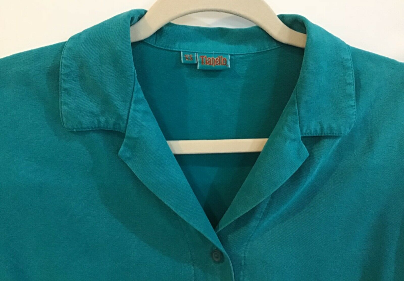 Tianello XS Extra Small Turquoise Teal Tencel Ray… - image 2