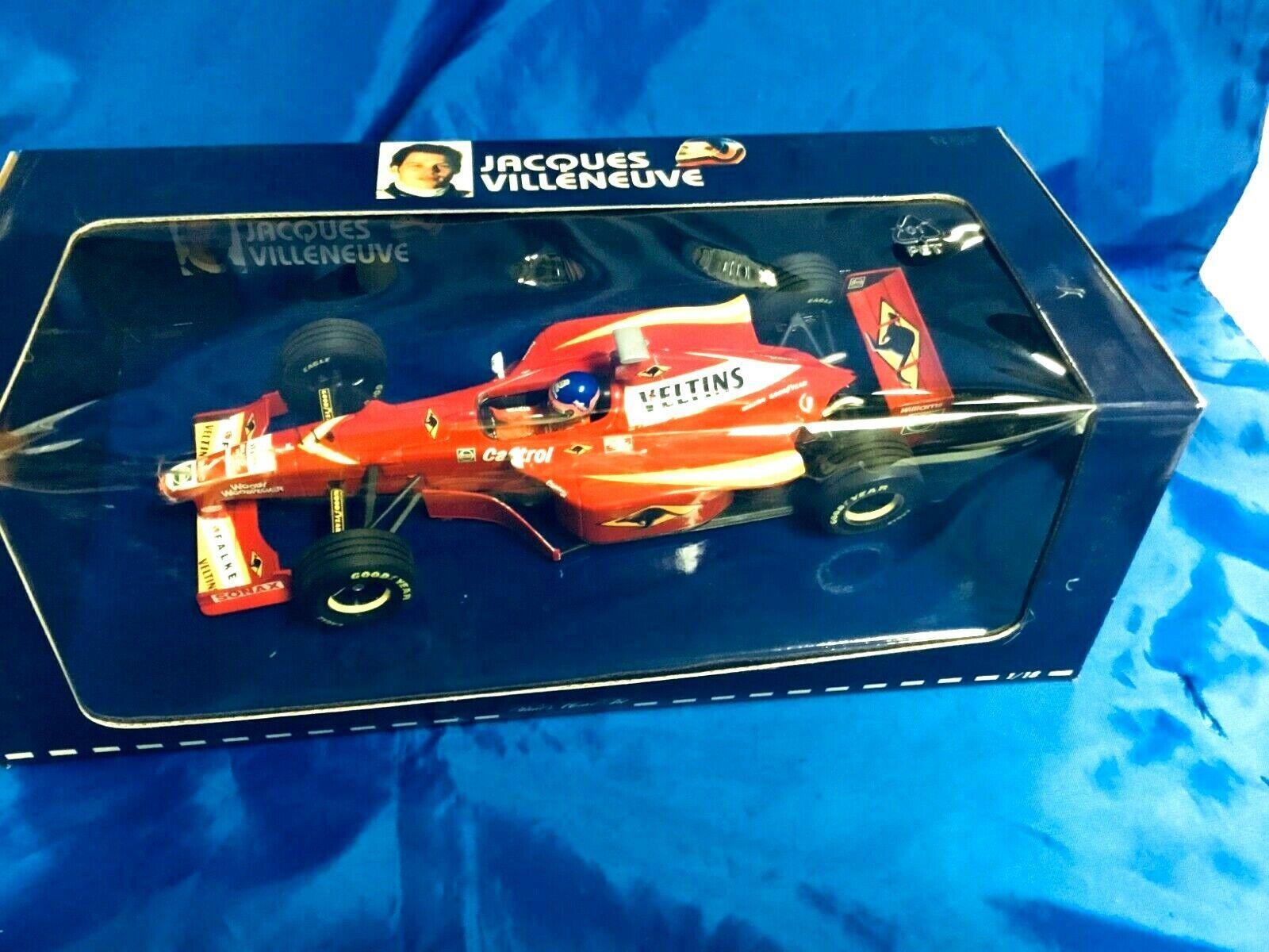 MINICHAMPS PMA Jacques Villeneuve 1 18 Williams Renault MECACHROME FW20 NIB
