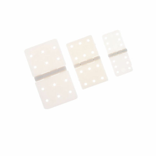 10pc Nylon Plane Hinge for RC Airplane RC Airplane Plane Parts Replacement TB BS