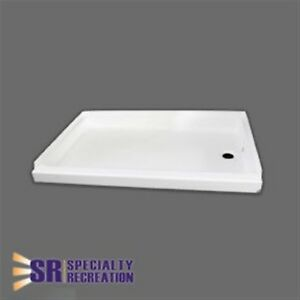 24 X 36 Shower Pan.Details About Specialty Recreation Sp2436wr Shower Pan 24 X 36 White Right Center Drain