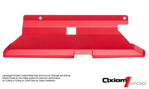AF DYNAMIC AIR INTAKE SCOOP For 01-06 BMW 323i 325i 328i 330i M52 M54 E46 M3 RED