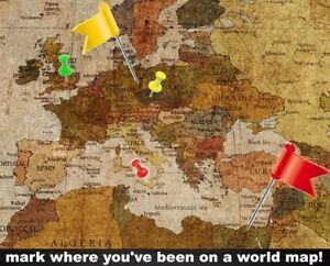 image is loading world map retro vintage wallpaper wall photo decor