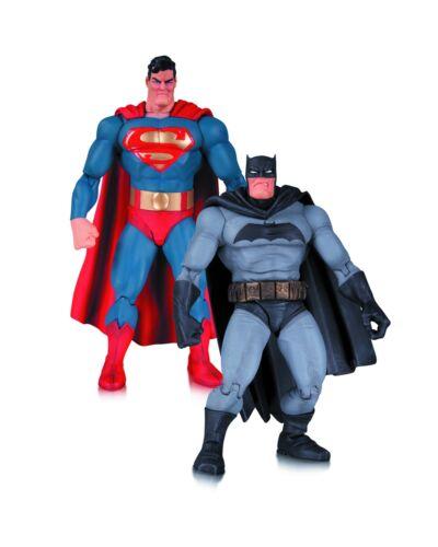 """El caballero oscuro regresa 30TH aniversario /""""Batman y Superman/"""" Set Figuras De Acción"""