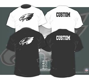 cheaper 7418a 447f4 Details about Philadelphia Eagles Shirt or Hoodie with CUSTOM TEXT