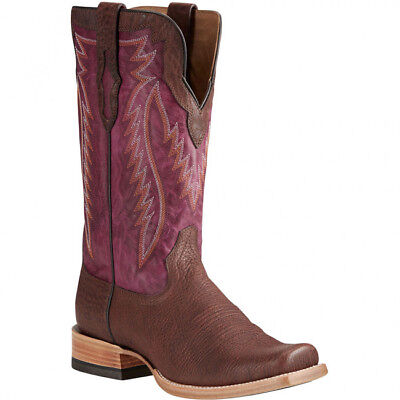 701fdcc71e3 ARIAT Men s Relentless Prime Western Boots Square Toe Brandy 10021722 NIB
