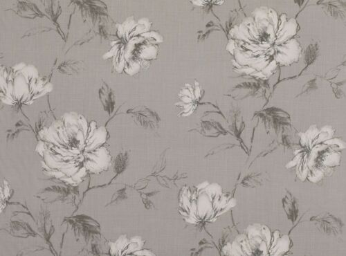 SILVER 7781//02-138cm Wide ROMO Cressida 100/% Linen Furnishing Fabric
