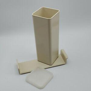 Vintage-TUPPERWARE-Velveeta-Cheese-3-Piece-Container-1696-1697-amp-1698