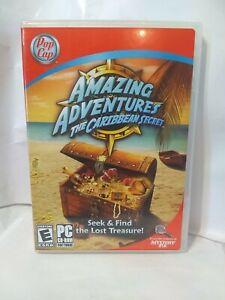 Amazing Adventure The Caribbean secret PC Computer Game Seek Find Hidden Object