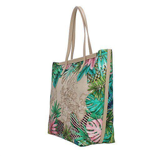 Bag Jungle Alviero Donna Martini Borsa Shopping Classe 1a IgmYb76fvy