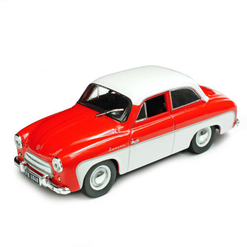 Syrena 100 Coupe Rot Weiss 1//43 Modellcarsonline Modell Auto mit oder ohne ind..