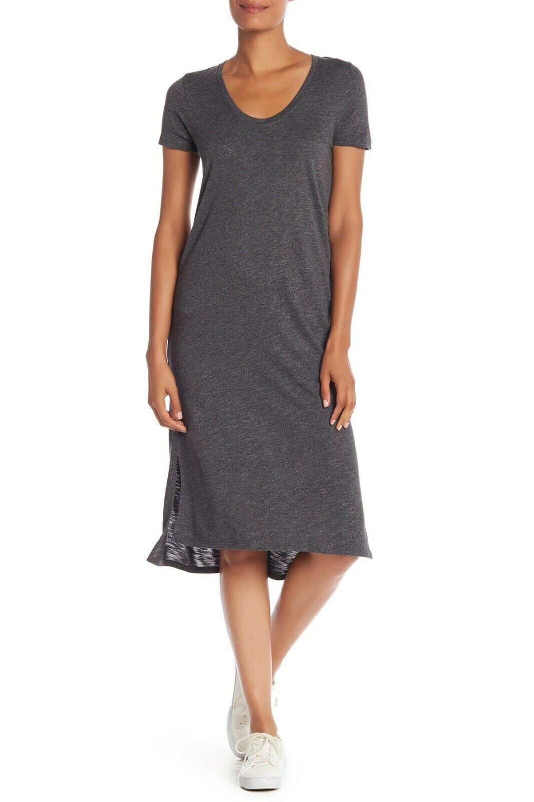 NEW  Madewell Scoop Neck Midi Dress in Heather grau [SZ XL ]  C895