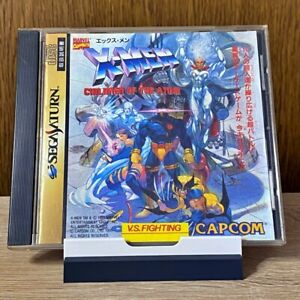 X-Men-Children-of-the-Atom-Sega-Saturn-SS-JAPAN