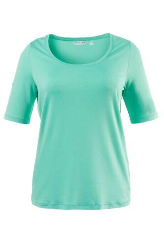 Gina Laura Shirt Basic uni grün NEU