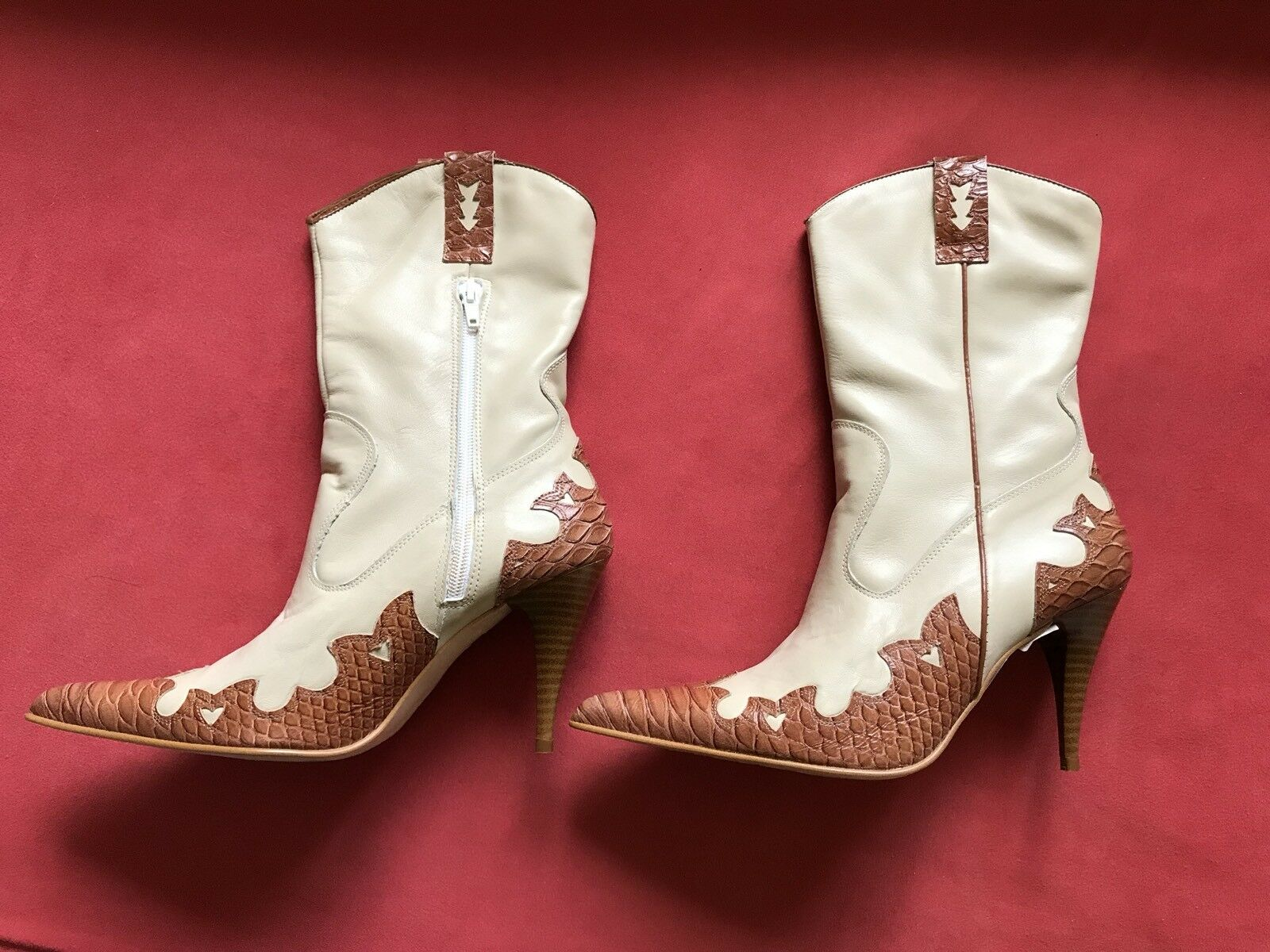 NEU Cowboy Stiefel Damenschuhe Stiefeletten Stiefel Gr.39 Neupreis 119,95 Euro