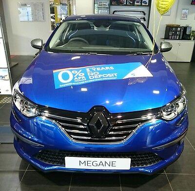 Renault Clio 4 2013-2016,Glanz Schwarz Vorne /& Hinten Emblem Deckel mit