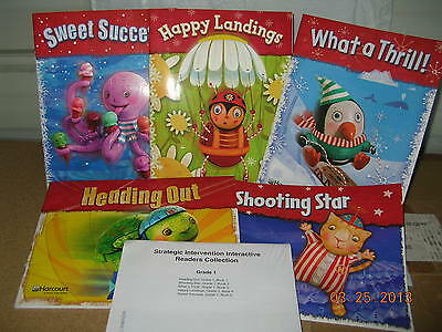 Harcourt Storytown Grade 1 Intervention 5 Pac Readers Collection NEW R6s2f 527 9780153670527 EBay
