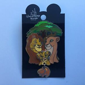 Details About Disneyana Convention Artist Choice 3 Lion King Family Pride Disney Pin 6616