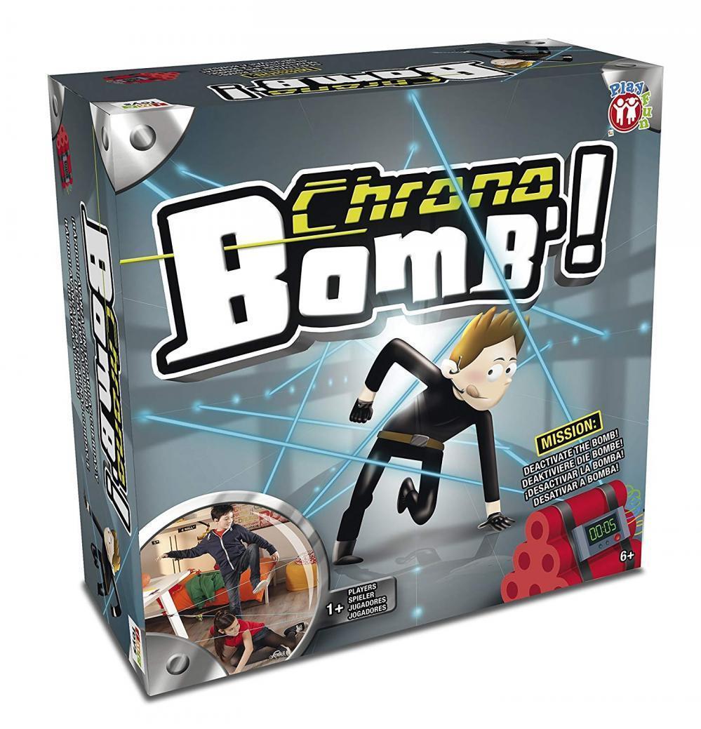 Chrono Bomb Actionspiel für Geheimagenten Kinder Spiel Spiel Spiel Jungen Mädchen ab 6 NEU 59fa51
