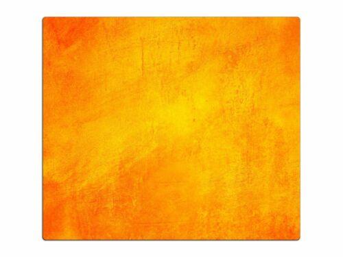 Herdabdeckplatte Planche à découper anti-projections en verre ha323746937 abstrait orange