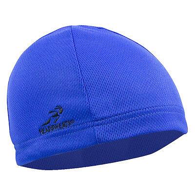 BLUE HEADSWEATS COOLMAX SKULL CAP CYCLING HELMET LINER NEW