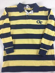 Georgia-Tech-Yellow-Jackets-3-4-Sleeve-Shirt-Girls-Youth-12-14-Kids-GT-Pullover