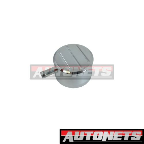 Billet Polish Aluminum Ball-Mill Valve Cover PCV Breather ChevyFord Street Rod
