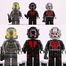 3ps ANT-MAN Scott Lang Marvel Superheroes Custom Lego Mini Figures