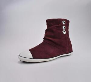 c92e5f8789e7 Converse Shoes Women s Light Ankle Mid Burgundy Boots 512471  1431 ...