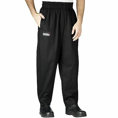 Chefwear 3640-50 Tailored Chef Pant Black//Grey Pinstripe all sizes XS-5XL NEW!
