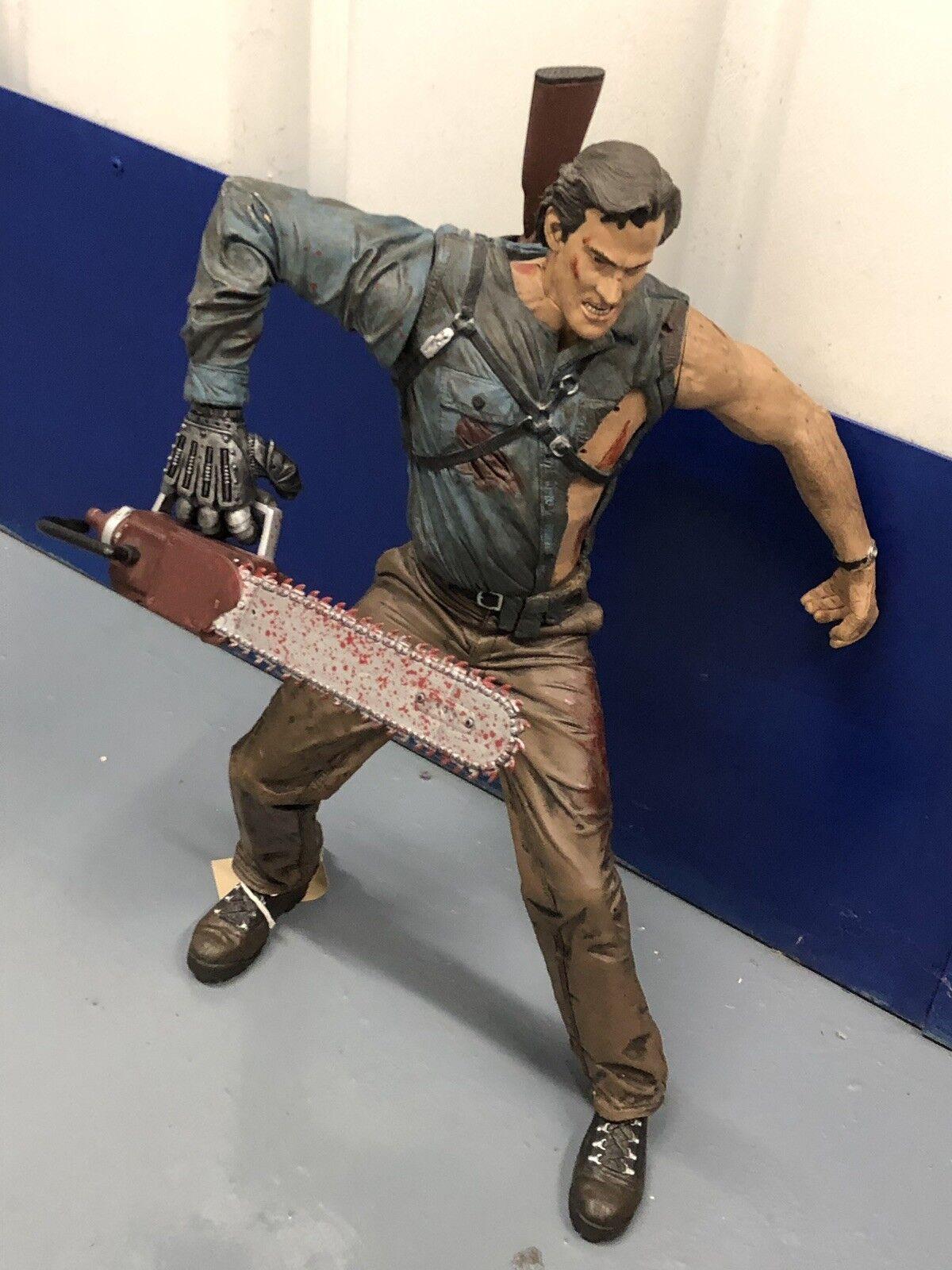 McFarlane Juguetes Evil Dead Army of Darkness-Ash 18  Figura Rara Sensor De Movimiento 12