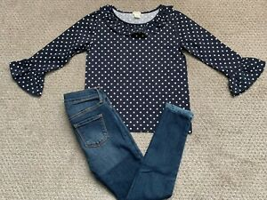 Supercute-TRENY-Crewcuts-Old-Navy-2-PC-outfit-GIRLS-Size-6-7