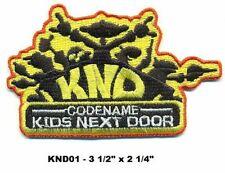 KIDS NEXT DOOR  PATCH - KND01
