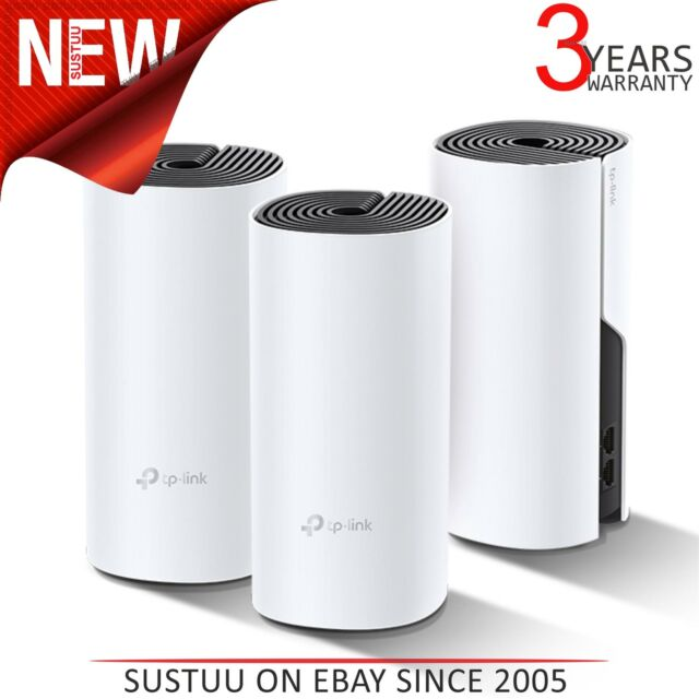 Tp-link Deco P9 AC1200+ AV1000 Todo Home Híbrido Malla Wi-Fi Sistema (3-Pack)