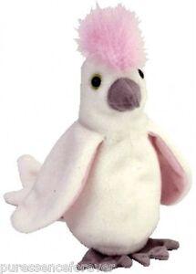 2077f380350 TY BEANIE  KUKU THE COCKATOO BIRD (Beanie Babies Collection) (New ...