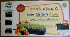 Germination Box Planter's Pride Heated Greenhouse Kit 40% Faster 72 cells