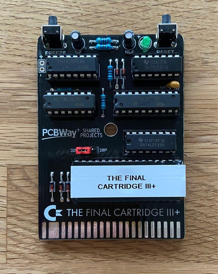 The Final Cartridge III+, Commodore 64