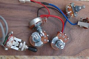 s l300 original epiphone les paul wiring harness alpha pots oem ebay les paul wiring harness ebay at creativeand.co